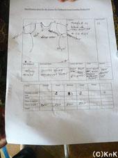 裁縫教室インストラクター、 ディナ作成の明細書