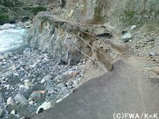 寸断された道/Kohistan