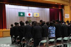 様々な服装で臨んだ入学式