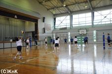 これから練習試合が始ります。