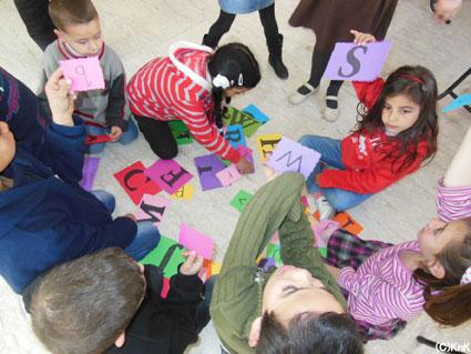 教育熱心なパレスチナ社会の背景