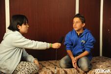 ジャミールへのインタビュー
