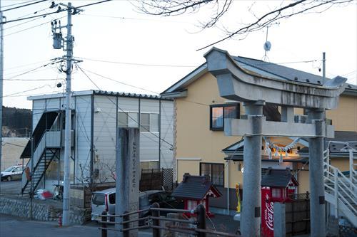 2015年2月:町は復興に向けてかさ上げされ始めたばかり(山田町)