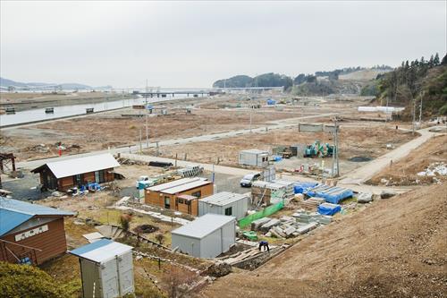 2015年2月:復興にはまだまだ時間がかかる(陸前高田市)