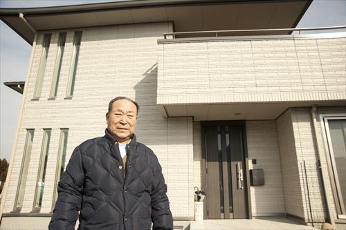2015年2月:近隣に土地を買い、新しい生活を始めた元店主(大船渡市)
