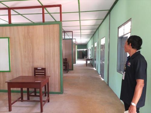 石造校舎室内(修繕後)