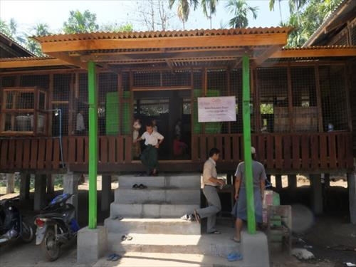 木造校舎(修繕後)