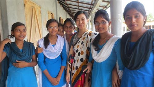 バングラデシュ農村部での啓発セッション