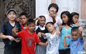 フィリピンで出会った友だち、また会おう!