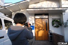 撮影の練習