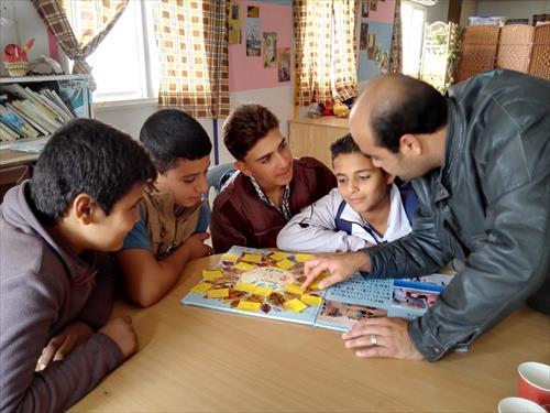 岩手の子どもたちの夢に聞き入るシリア人の子どもたち