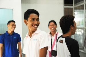 KnKスタッフとして未生年収監者支援にも携わる(2013年/21歳)