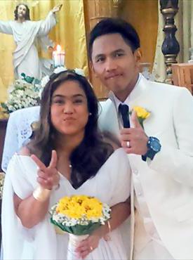 結婚式(2016年4月/24歳)