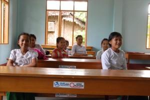 【新校舎】Nyaung Kone(ニャンゴン)ポスト・プライマリー校