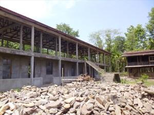 【旧校舎】Tha Main Dut(タメインデュ)中学校