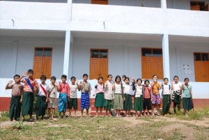 【新校舎】Tha Main Dut(タメインデュ)中学校