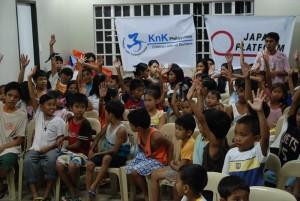 台風被害時には多くの子どもたちを受け入れた