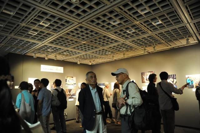 アイデムフォトギャラリー「シリウス」。2015年写真展開催時の様子。