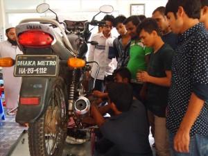 バイク修理・メンテナンスコース