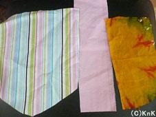 選定する3枚の布