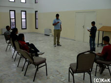 演劇:発声法や配役への表現法を身につけていきます。