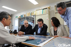 水産業の機能を回復したい、と願う 山田町長の言葉にも熱が入ります