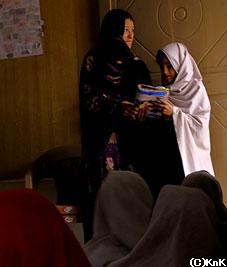 コヒスタン出身の女性教師は 一人しかいない