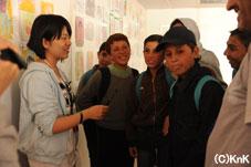 KnKのクラスに参加する生徒たちにもインタビュー