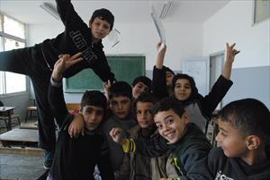 補習授業を受けるシリア難民の子どもたち(2)