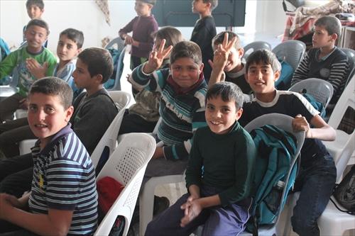 KnKヨルダン:シリア難民キャンプの子どもたち