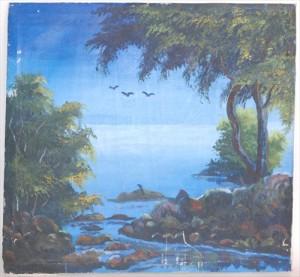 カンボジアの刑務所に収監された青少年が描いた絵