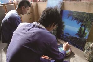 カンボジア 収監された未成年