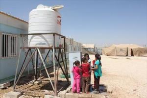 KnKヨルダン シリア難民支援活動