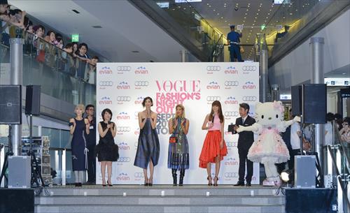 昨年、表参道ヒルズで行われたオープニングセレモニー   (photo: Hiroaki Horiguchi)