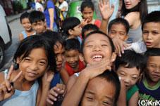 笑顔が素敵なフィリピンの子どもたち