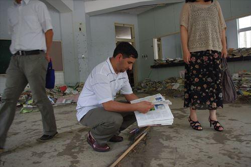 東北被災地にて(2011年7月)