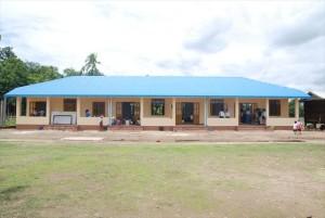 【新校舎】Htee Ka Lay(ティッカレイ)小学校