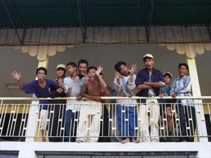 2000年当時の自立支援施設「若者の家」